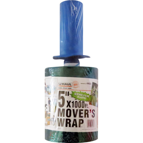 5 inch Mover's Stretch Plastic Wrap