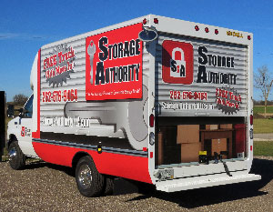 Storage Authority Moving Truck