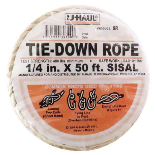 Sisal Tie Down Rope