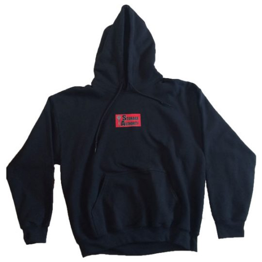 Storage Authority Hooded Sweatshirt front