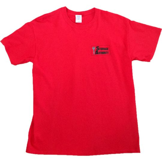 Storage Authority T-Shirts front