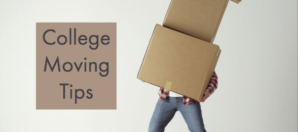 Moving Tips for College Kids