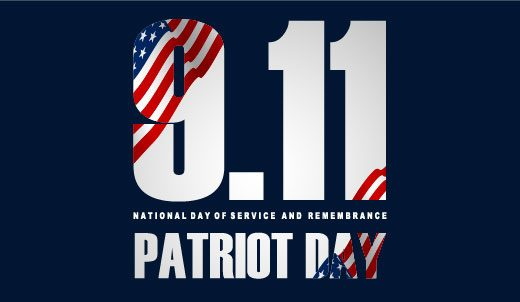 9.11 National Day of Service and Remembrance Patriot Day