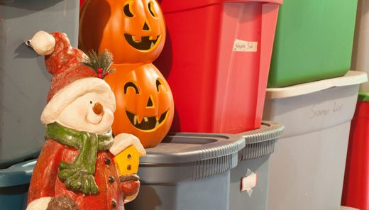 Seasonal Decoration Storage