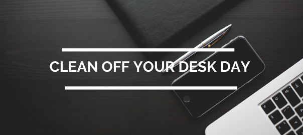 New Year, New Slate: Clean Off Your Desk Day