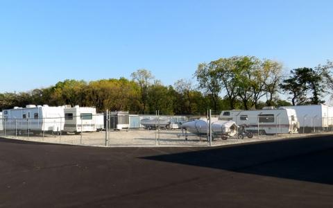 Outdoor Storage at Storage Authority